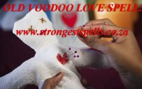 Old voodoo love spells