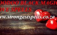 Voodoo black magic love spell