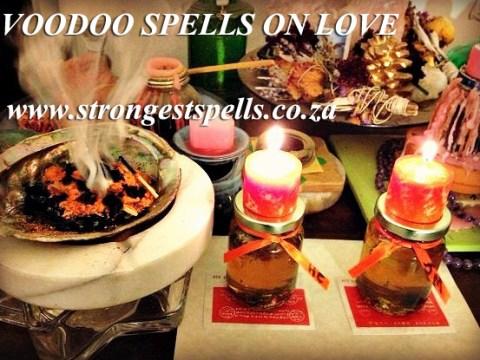 Voodoo spells on love