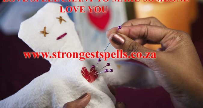 Love spell chant to make someone love you