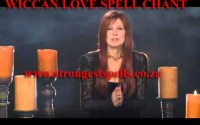 Wiccan love spell chants