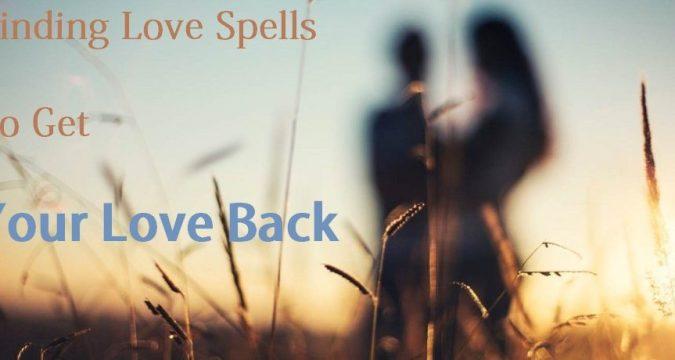 Binding love spells online that work