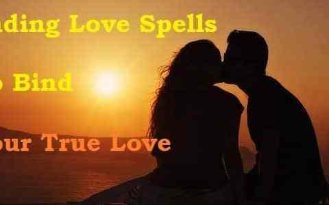 Love spells binding lovers