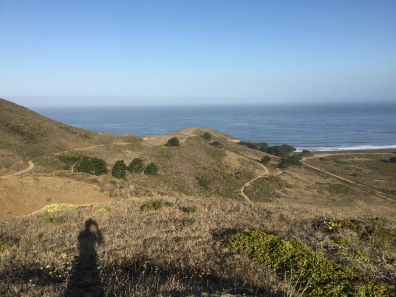 Mori Point. Does this shadow make me look fat?