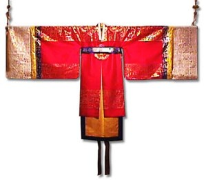 hong wonsam- worn by queen (hong means red)