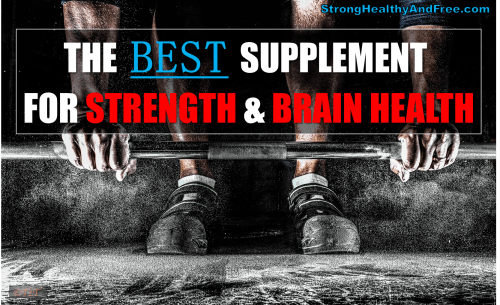 Learn what the best supplement for strength and brain health is in this article. It also will help you build more muscle and raise your testosterone levels.