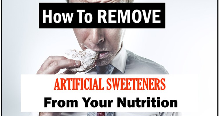 This article is a small guide that will teach you how to remove artificial sweeteners from your nutrition, especially if your diet relies on protein shakes.
