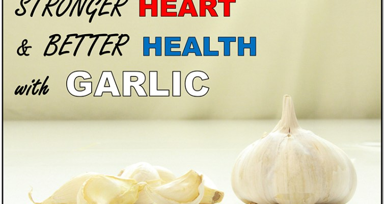 Stronger heart and better health with garlic! #spices #herbs #hearthealth
