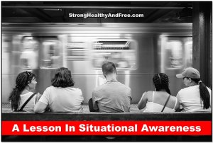 A lesson in situational awareness. #selfdefence