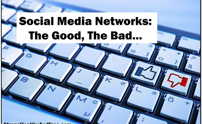 Learn about the good and bad of Social Media Networks! #socialmedia #benefits