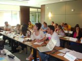 (29/08)A tarde, a segunda sessão da aula de Sustentabilidade continua com um Bingo entre os alunos!