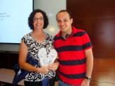 (29/08)Ao final da aula, o aluno Leonardo faz um agradecimento a Prof. Cathy Moran.