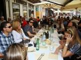 (03/jun) No domingo, apreciando uma culinária italiana.