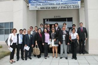 (01/ago) Alunos visitaram Legal Aid Society of Orange County