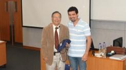 (15/11) Aluno Thiago agradecendo ao Prof. Chan pela aula, em nome da FGV / Strong