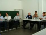(08/10) Alunos e professor Pedro na aula de José Paulo Esperança.