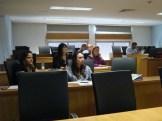 (11/10) Alunos na aula da professora Dra. Generosa do Nascimento.