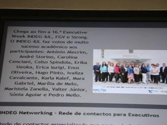 (11/10) A notícia do nosso curso no ISCTE, com o nome de todos os participantes nas instalações da universidade.