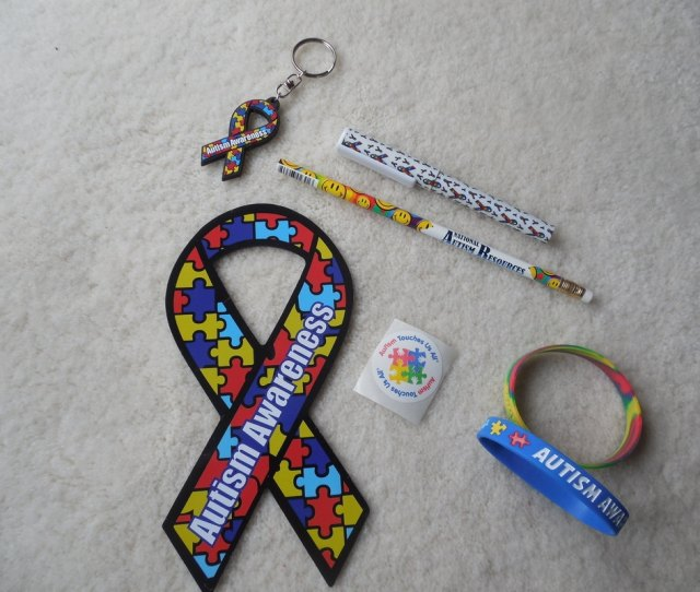 Heres A Few Items That I Picked Up At The Expo Note Remember Today Is Autism Awareness Day