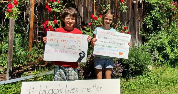 Teaching kids to recognize discrimination and injustice and to take a stand against it