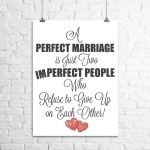 <h5>A Perfect Marriage Is...</h5><p>A Perfect Marriage Is...</p>