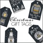 <h5>Christmas Gift Tags</h5>