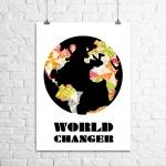 <h5>World Changer Art Print</h5><p>World Changer Art Print</p>