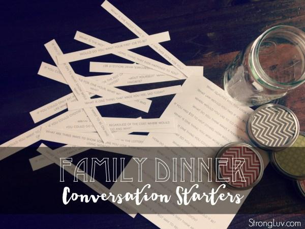 dinner conversations free