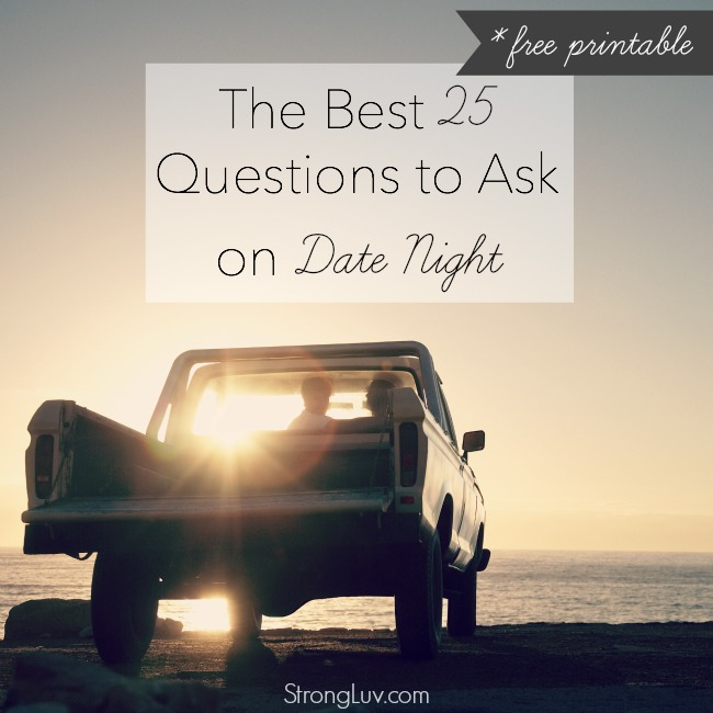 25 date night questions
