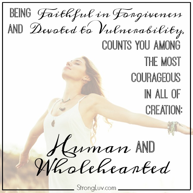 human and wholehearted