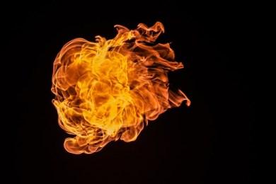 燃え盛るエネルギーレベル