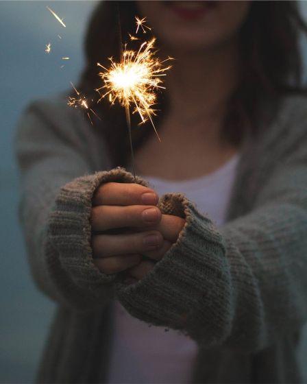 strong women quotes girl sparkler