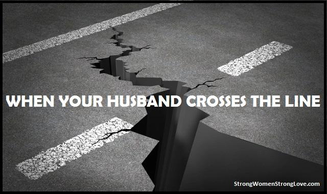crosses the line