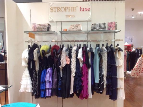 STROPHE/STROPHE luxe TOKYO/天津店OPEN
