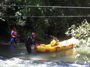 Creek rescue