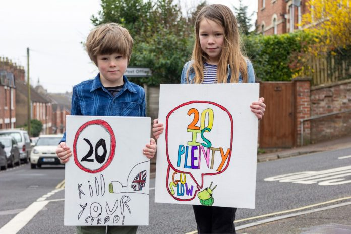 LETTER OF THE WEEK: Campaigners are calling for enforcement of 20mph Slad Road speed limit