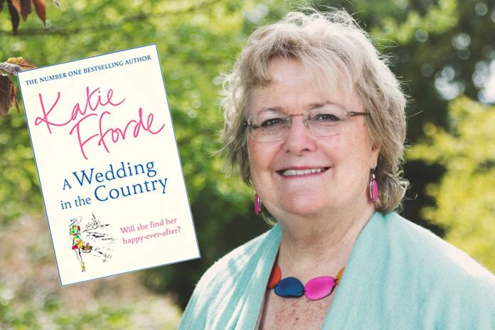 Katie Fforde, author of A Wedding in the Country. Picture: Carl Hewlett/Hewlett Photography & Design