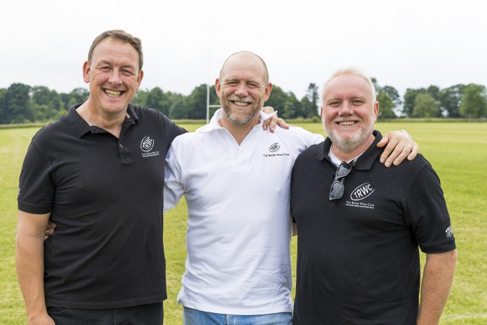 Jason Richards, Mike Tindall and Jonathan Hughes of The Rugby Wine Club. Picture by Carl Hewlett / Hewlett Photography & Design