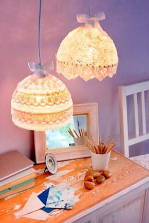 چگونه با دستان خود لامپ را بسازید؟