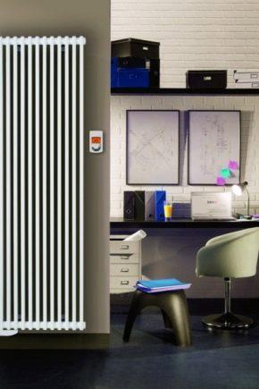 난방기 라디에이터 : 개인 주택, 설치 기술에 적합한 옵션을 선택하십시오.