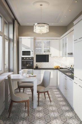 кухня 8 квадратов дизайн фото 1