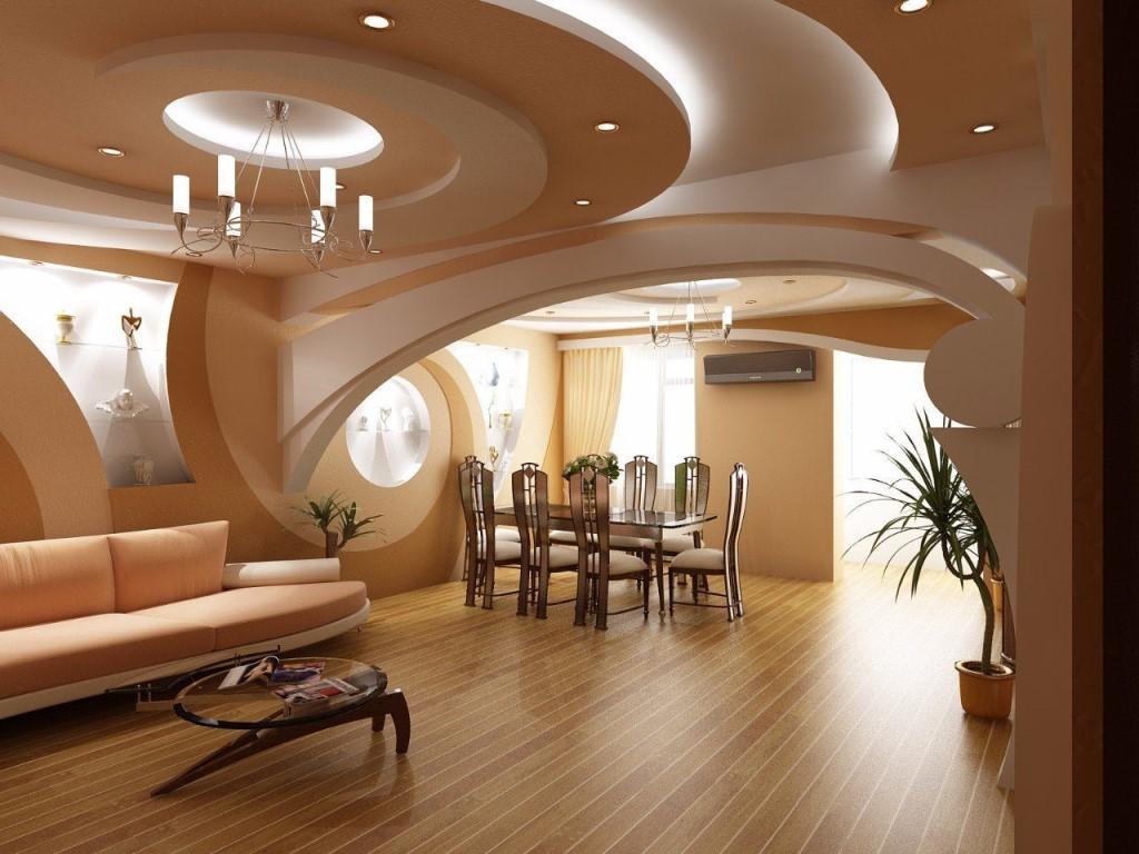 дизайн потолков из гипсокартона фото 6