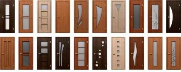 Ușile de interior sunt diferite nu numai în design, ci și le-au făcut din materiale diferite.