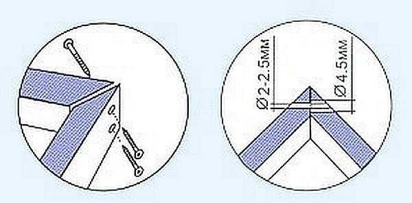 Как соединять дверную коробку в углах