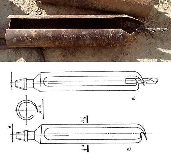 Bur-lingură pentru solul vâscos