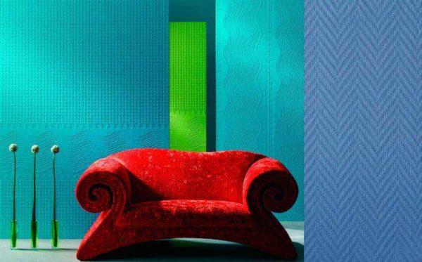 Precisamos de papéis de parede duráveis para pintura - Escolha entre fibra de vidro