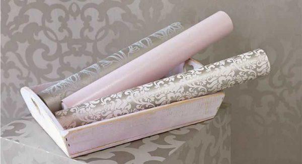 Outro tipo de papel de parede com propriedades especiais - vinil