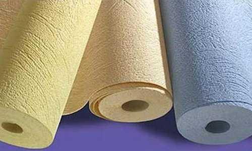 O papel de parede acrílico é uma base de papel (geralmente cor), que está apontando acrílico