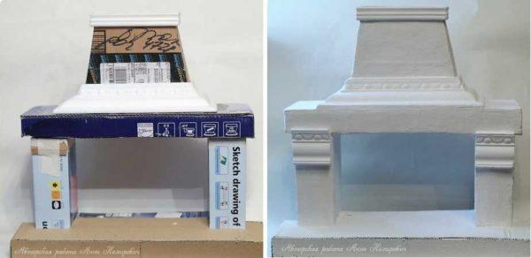 আরো জটিল আকৃতি এবং ব্যবহৃত polyurethane moldings বিস্ময়কর তৈরি করা হয়।