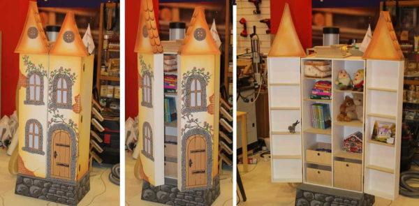For dukker kan du til og med lage et slott